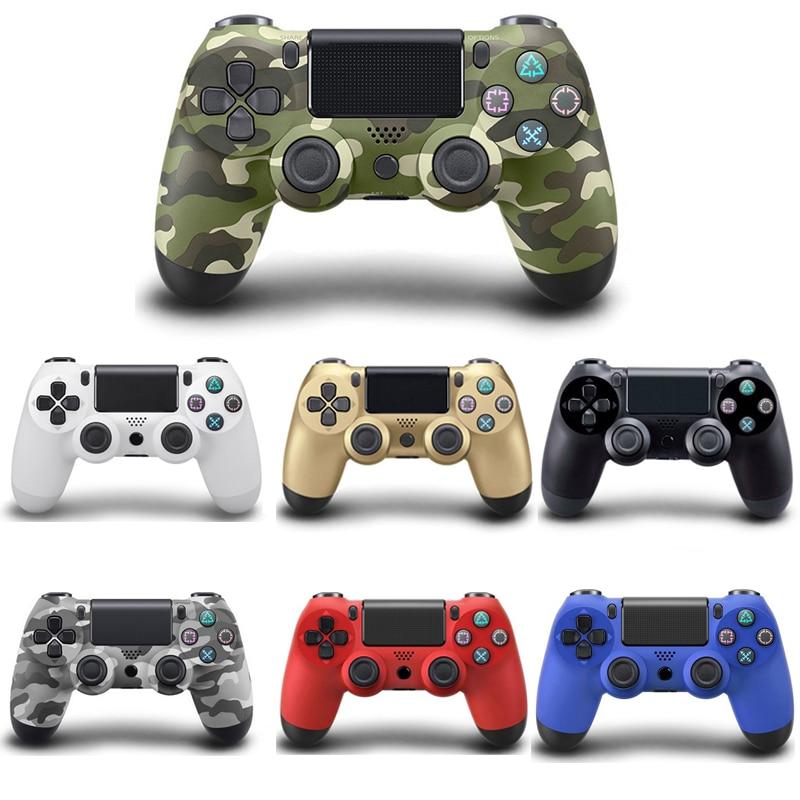 Sans fil Gamepad Pour Playstation Sony PS4 Contrôleur Joystick Joypad Controle Pour PC Win 7/8/10 Pour PS3 console Avec USB Câble