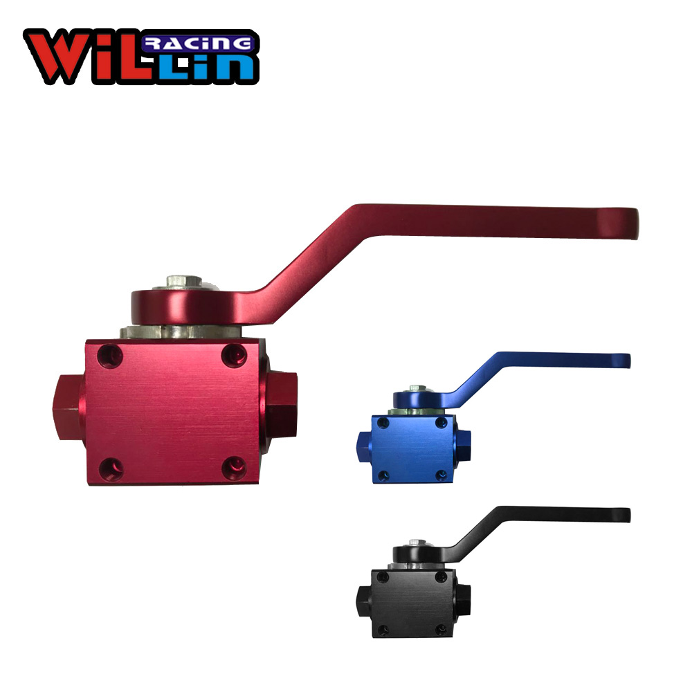 Willin Billet Aluminium Brake Line Lock Shut Off Valve 1 8 Npt Female Blue Red Black Wlvw07 Brake Line Lock Line Lockbillet Aluminum Aliexpress