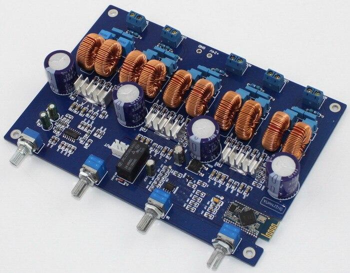 TPA3116 4.1 carte amplificateur de puissance Bluetooth 4*50 W + 100 W
