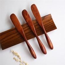 Высококачественная деревянная маска японский нож для масла нож для джема кухонные ножи посуда с толстой ручкой стиль ножа