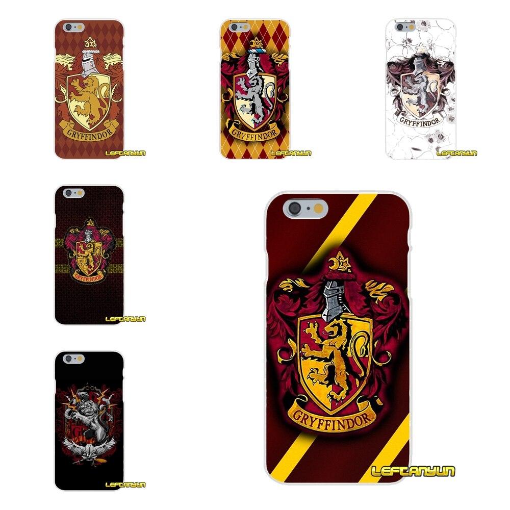 Гарри Поттера Гриффиндор логотип Тонкий силиконовый чехол для телефона Motorola Moto G <font><b>LG</b></font> Spirit G2 G3 мини G4 G5 K4 k7 <font><b>K8</b></font> K10 V10 V20