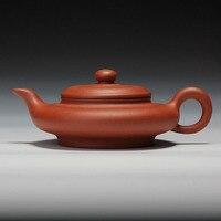 155cc Authentic Purple Clay All Handmake Tea pot Health Kung Fu Tea Set Kettle Yixing Qing Shui Mud Tea Ceremony Xu bian TeaPot
