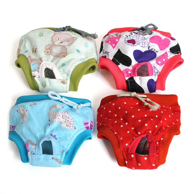 Multi-color Casual Dog Physique Pants Cotton Pet Underwear Cute Puppy Cat  Clothing Fashion Style Dogs Pants DOGGYZSTYLE