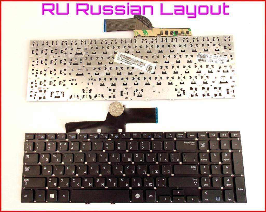 New Keyboard RU Russian Version for Samsung 270E5U 270E5J 275e5e 270e5e 275E5V 270E5V Laptop Without Frame