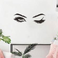 Pretty Eyelashes Wall Sticker