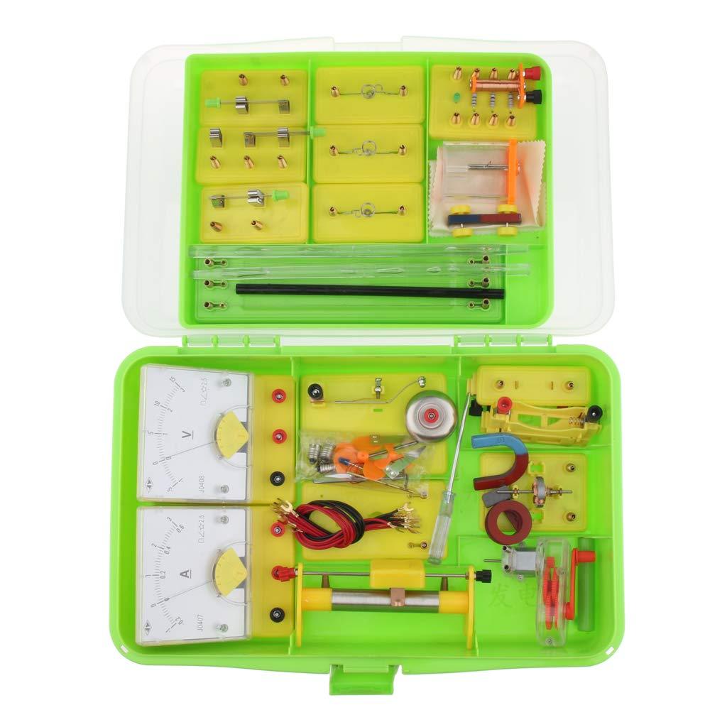 Kit de tige de Circuit électrique matériel de laboratoire d'expérimentation de physique équipement éducatif d'apprentissage de Science d'électro-tisme - 3