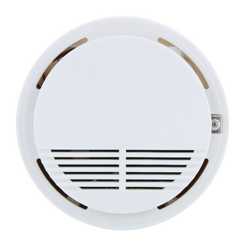 Home Safety Security System Battery Wireless Cordless Sensor Monitor Smoke Detector Fire Alarm LCC77 5pcs 433mhz sensor sensitive photoelectric home security system cordless wireless smoke detector fire alarm for home protection