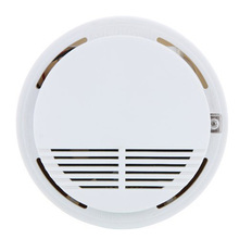 Home Safety Security System Battery Wireless Cordless Sensor Monitor Smoke Detector Fire Alarm LCC77