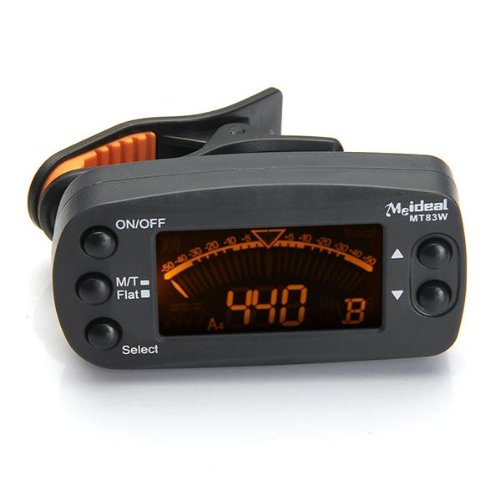 Music-S ENO ET-36 Clamp Tuner For Guitar Chromatic Tuner with clip.