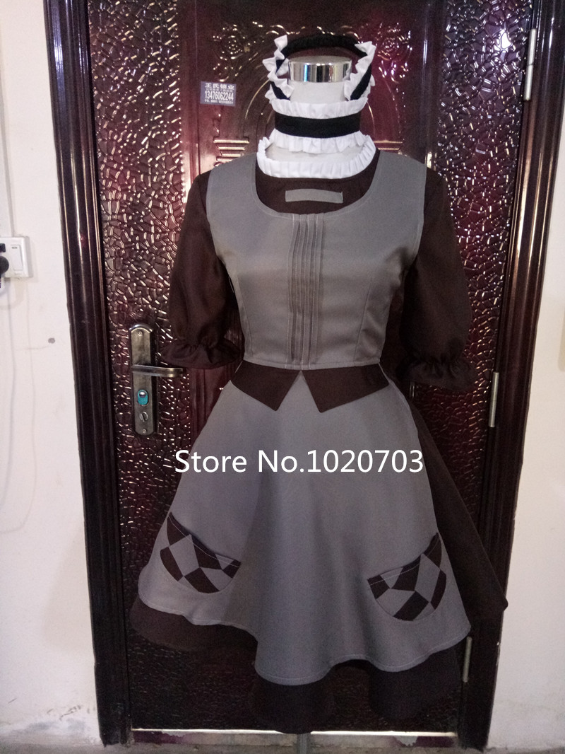 Magical Girl Raising Project Hardgore Alice In Wonderland Style Maid Dress Cos Other Anime Collectibles Collectibles Roomburgh Nl