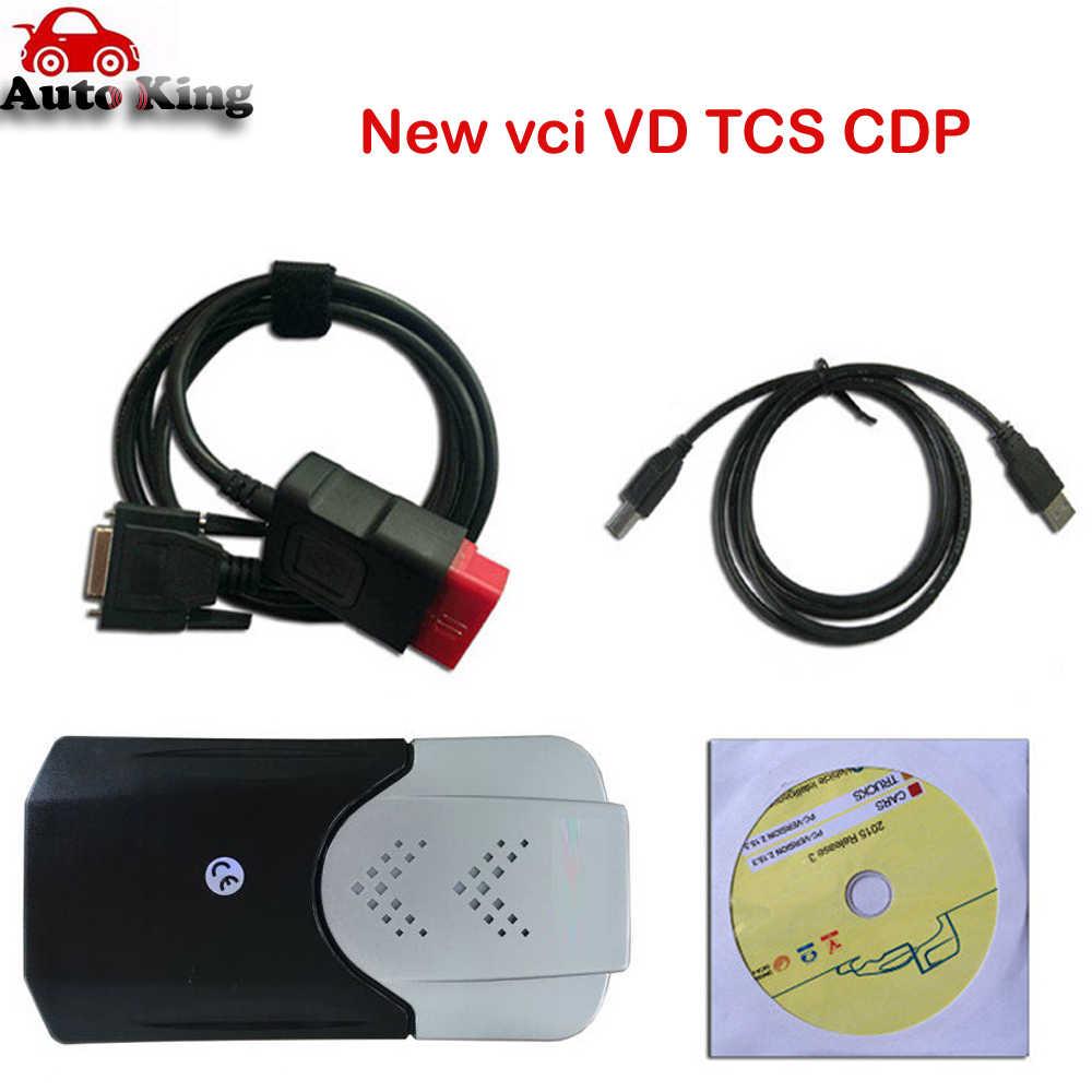 2020 Mới VCI VD Ds150e Pro Plus 2016. r0 Với Keygen Cho Delphis Autocomes OBD2 Chẩn Đoán Công Cụ Sửa Chữa LED Máy Quét Ô Tô Xe Tải