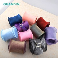 GUANDIN,1pcs/1yard New Wave Copying Strip Korean Pearl Yarn DIY Handmade Bow Hair Accessories Clothing Sewing Crafts Decoration(China)