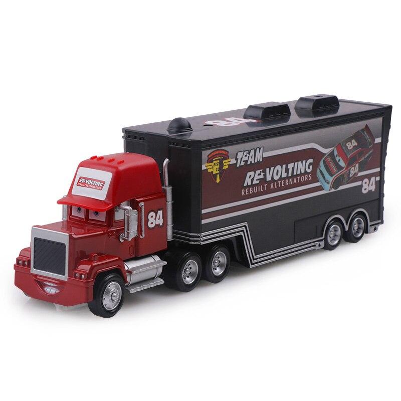 Дисней Pixar Тачки 2 3 игрушки Молния Маккуин Джексон шторм мак грузовик 1:55 литая модель автомобиля игрушка детский подарок на день рождения - Цвет: No.84