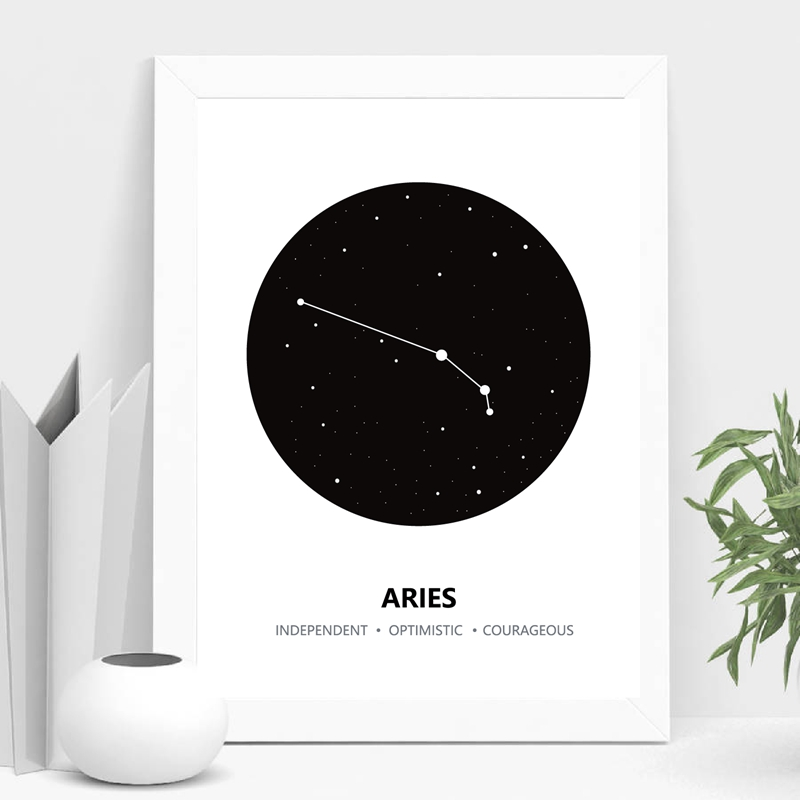 Constellation Canvas Art Print