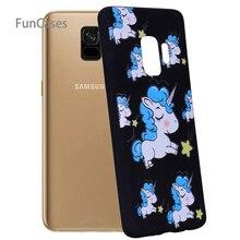 Arco Iris caso de Socorro Celular Samsung S9 Soft TPU Funda caja de teléfono Floral para Samsung Galaxy S9 Cubierta telefonia