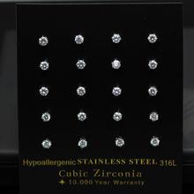 Серьги luxusteel из нержавеющей стали для женщин 10 пар в комплекте