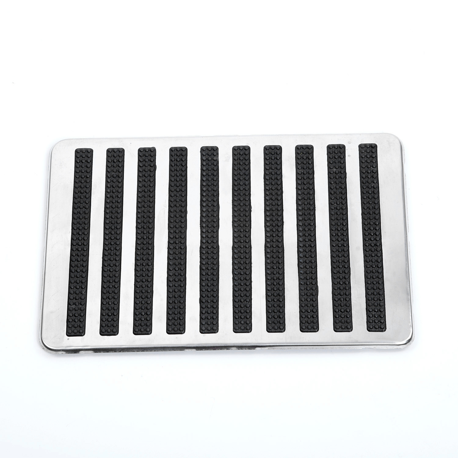 Stainless Steel Waterproof Universal Driver Car Side Auto Interior Floor Carpet Patch Foot Pedal Non slip Heel in Lift Kits Parts from Automobiles Motorcycles