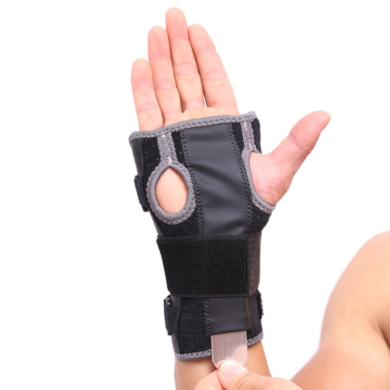Sports Support Brace Dumbbells Gloves Wristband for Men Women Breathable Fracture Splint Protector Wrist Palms Support
