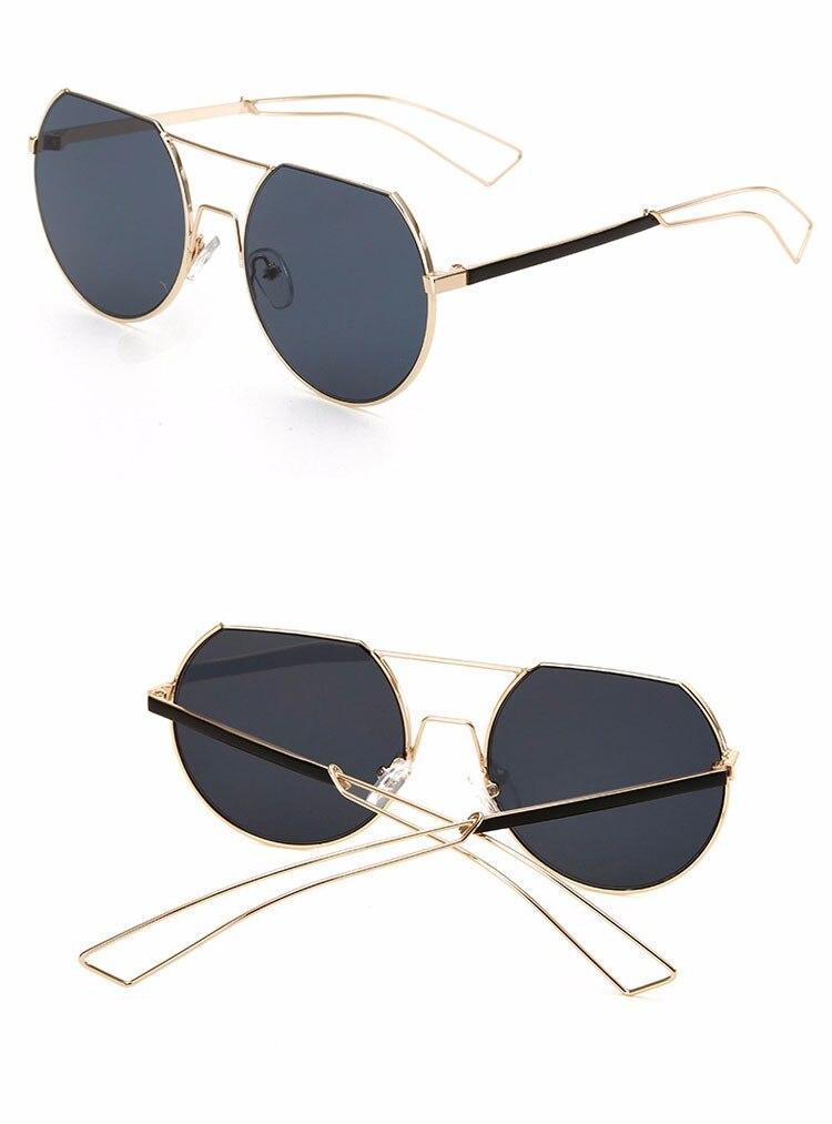 Ralferty Vintage Wanita Pria Kacamata Merek Desain Cermin Matahari ... fc0c20140c