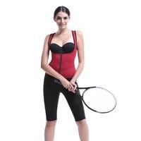 High Quality Neoprene Body Shaper Vest For Women Sauna Ultra Sweating Slimming Push Up Waist Trainer