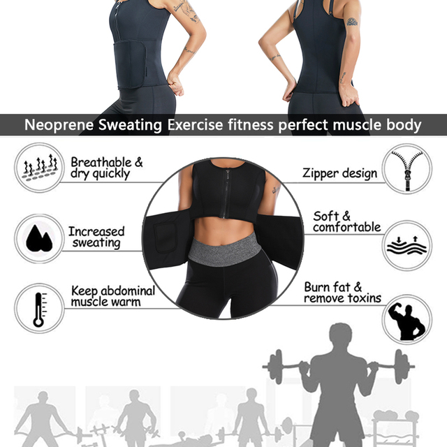 Miss Moly Neoprene Body Shaper Sweat Waist Trainer Modeling Belt Tummy Control Sheath Fitness Slimming Shapewear Cincher Corset 4