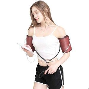 Image 2 - Электрический массажер для рук, локоть, суставы, вибрация, нагрев, разминающий массажер, домашний массаж, терапия 220 В