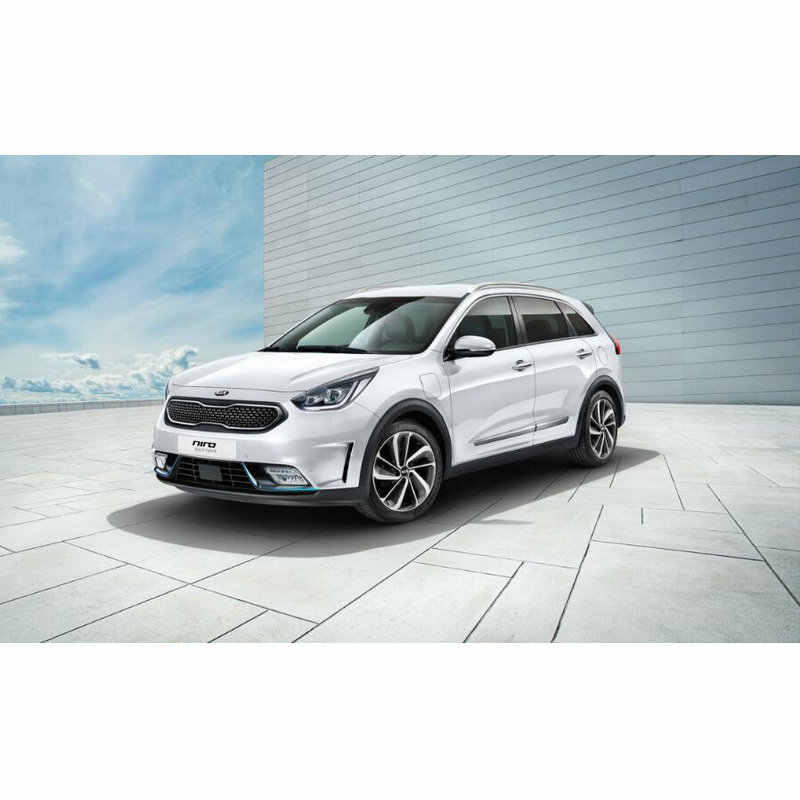 Coche Led luces interiores para 2018 kia 2017 niro Auto coche automotriz Led Interior cúpula bombillas de luces Led para coches 10 pc
