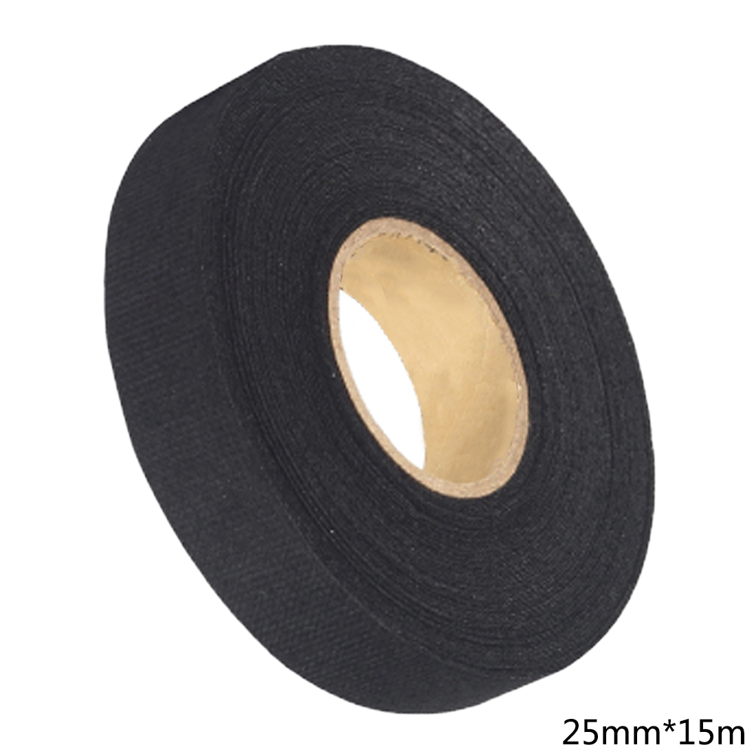 19mm X15m Universal Flannel Fabric Cloth Tape Automotive Wiring Black Harness Car Anti Rattle Self Adhesive Felt In Stickers From