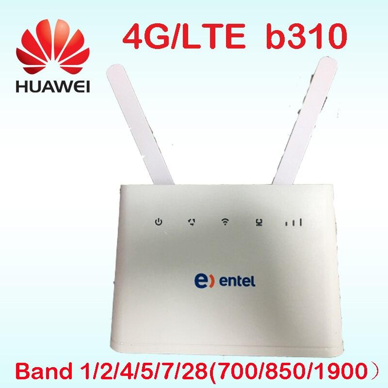 Débloqué Nouvelle Arrivée Huawei B B310s-518 1 4g LTE FDD Bande 1/2/4/5/ 7/28 CPE WIFI ROUTEUR Modem B310 pk b315 E5172