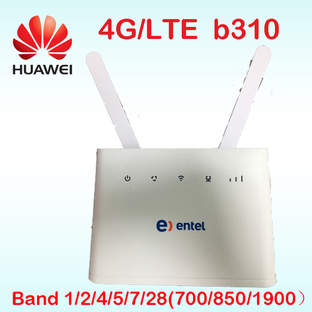 US $62 1 55% OFF|Unlocked New Arrival Huawei B B310s 518 1 4G LTE FDD Band  1/2/4/5/7/28 CPE WIFI ROUTER Modem B310 pk b315 E5172-in 3G/4G Routers from