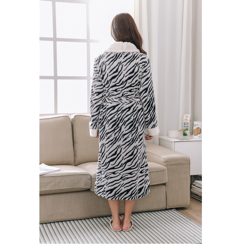 86471d7848 Easy Time Men s Bathrobe Leopard Knitted Sleepware Microfiber Unisex Pajamas  Couple