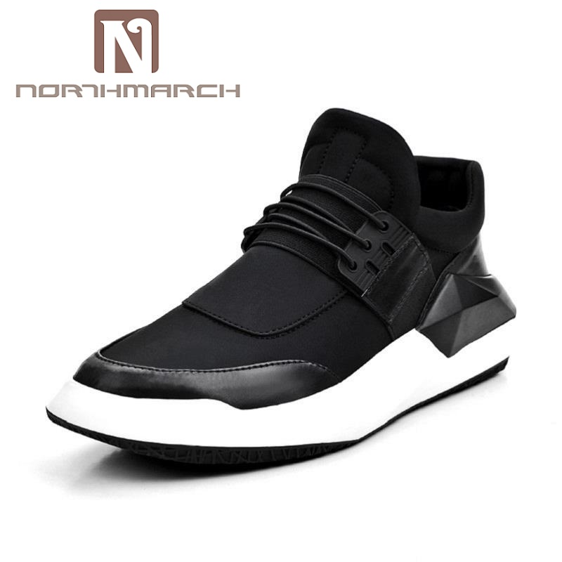 NORTHMARCH New Casual Loafers Lace-Up Male Shoes Walking Lightweight Comfortable Breathable Men Shoes Tenis Feminino Zapatos black men shoes casual shoes men lace up canvas shoes spring fashion new loafers breathable male flats boat shoes zapatos hombre