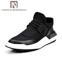 NORTHMARCH New Casual Loafers Lace-Up Homens Sapatos Masculinos Sapatos de Caminhada Leve E Confortável Respirável Zapatos Tenis Feminino