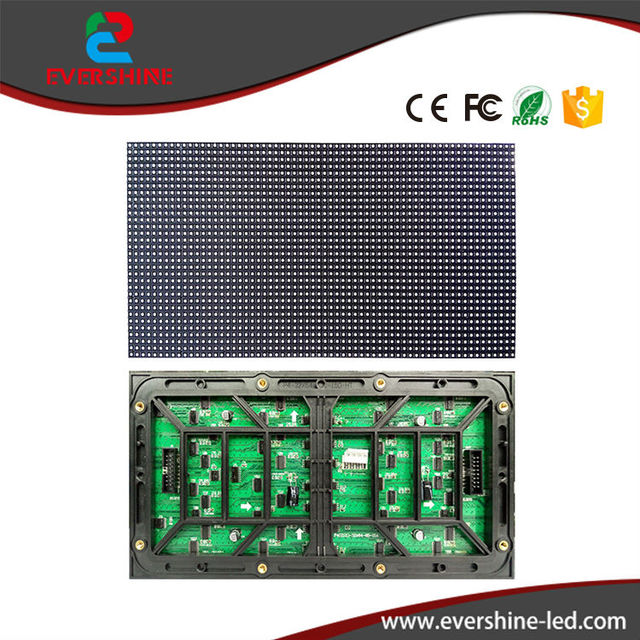 High brightness 1/8 scan outdoor SMD 3in1 P4 led module rgb 256mm*128mm for outdoor full color led display video tv board