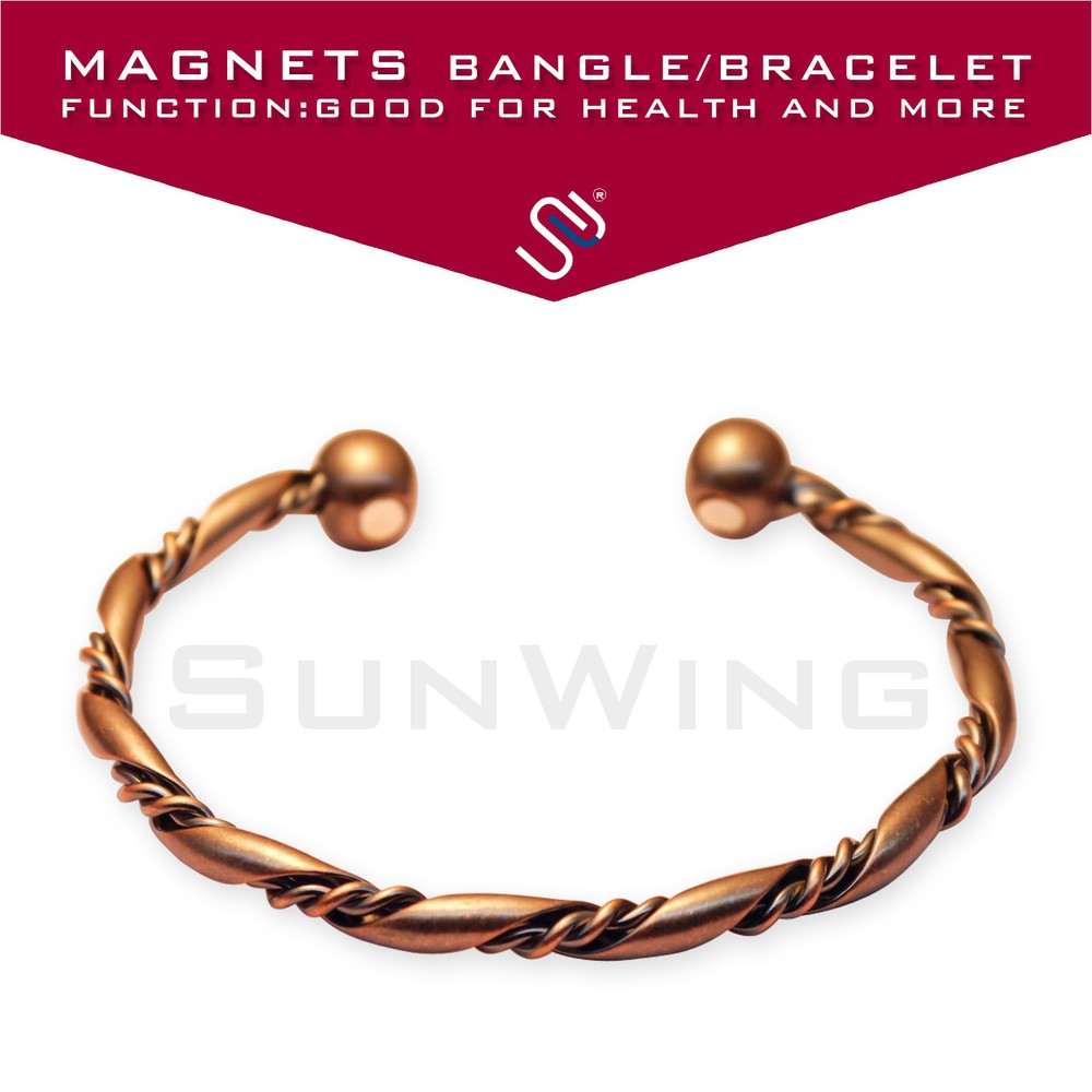Mens Magnetic Copper Bracelet Bangle Magnet Therapy Handcrafted Design In Men S Costumes From Novelty Special Use On Aliexpress Alibaba Group
