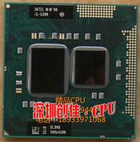 Original Intel Core Processor I5 520M 3M Cache 2 4 GHz Laptop Notebook Cpu Processor Free