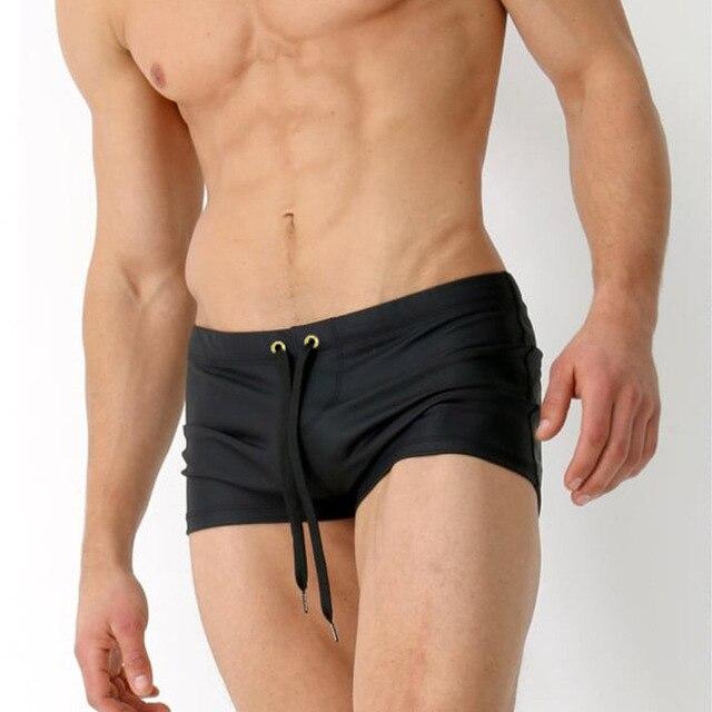 Nuovo 2018 uomini costumi da bagno sexy costumi da bagno - Costumi da bagno uomo extra large ...