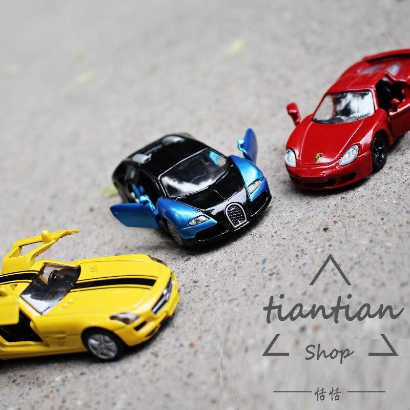 Siku kids toys 1: 64 Спортивный автомобиль Bugatti Benz Открыть дверь машины Металлического сплава модели автомобиля Длинные Дети, как подарок
