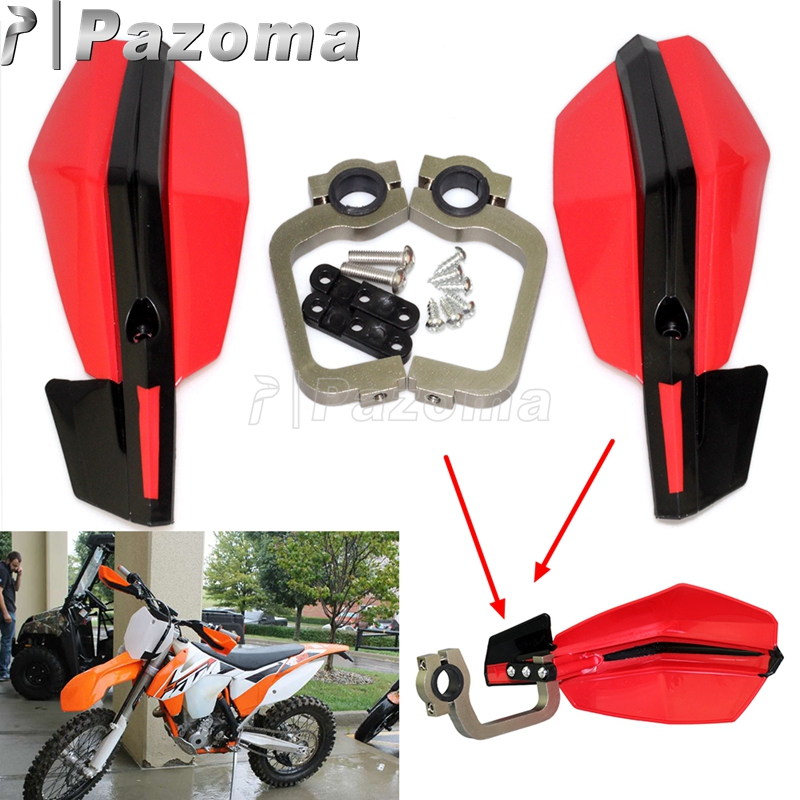 Motorcycle Handguard 22MM 28MM Brush Bar Hand Guards Protector Universal For Honda XR Yamaha Suzuki Ducati KTM Moto MX Enduro(China)