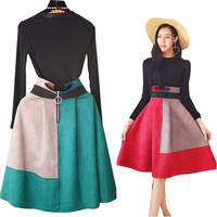 2018 New Winter Large Size Women S Clothing Autumn Western Style Dress Suit Pullovers Mini Skirt