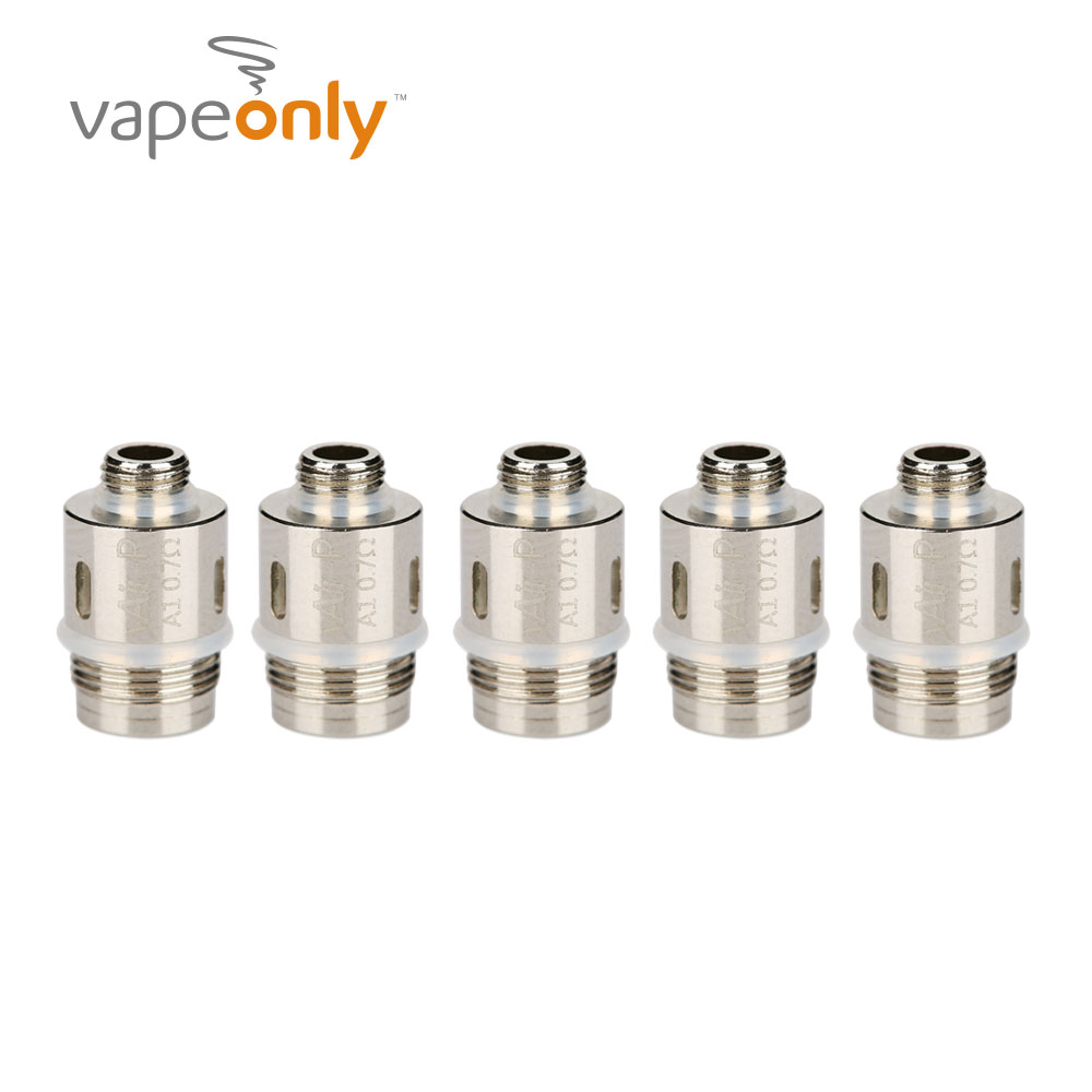 100% Original 5pcs VapeOnly VAir-P Coil Fit VPipe 3 Atomizer Tank/ VPipe III Kit/ Zen Pipe Kit 0.7ohm Coil Heads 5pcs Each Pack