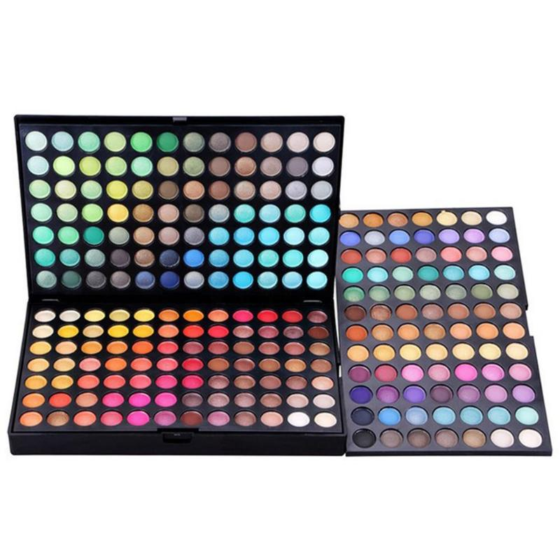 252 Colors Professional Make Up Palette Shimmer& Glitter Makeup Eyeshadow Palette Eye Shadow Makeup Set Cosmetics Tools