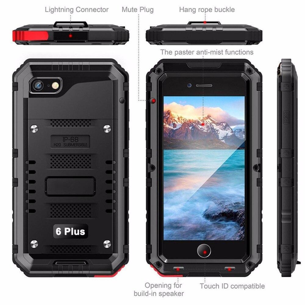 IPhone XS MAX üçün IP68 suya davamlı - Cib telefonu aksesuarları və hissələri - Fotoqrafiya 4