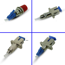 SC Female to ST Male Fiber Connector FC Female to LC Male Optical Adapter SC Female to LC Male Jointer Optical Fiber Coupler single mode sm 9 125 fiber optic adapter 2 5mm to 1 25mm lc female to fc male connector fc lc hybrid adapter hot selling