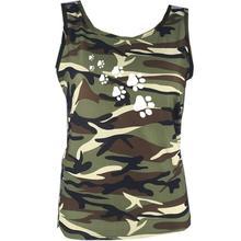 Camo Dog Paw T-Shirt