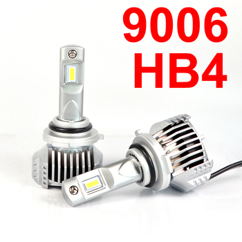 1 Set 9006 HB4 P12 Car LED Headlight Super Bright 0.72MM Ultra Thin No Blind W/ Driver Front Lamps Bulbs 6K White 90W 13000LM