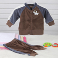 2017 Baby Boy Long Sleeves Clothing Set Cute Fashion Boys Outerwear for Baby Boy in Spring Autumn in 100% Cotton
