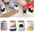 Algodón Del Bebé Calcetines Antideslizantes Calcetines De Dibujos Animados para Bebés Recién Nacidos Calcetines de Bebé Niños Calcetines Suaves Bebé Sokken Meias Infantil