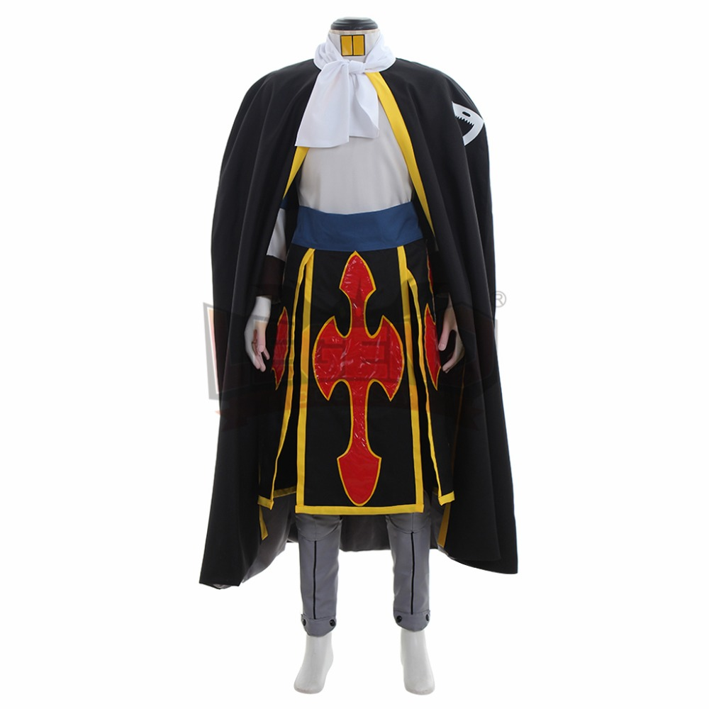 Hot Fairy Tail Rogue Cheney Clothing Cos Cloth Uniform Cosplay Costume A.313