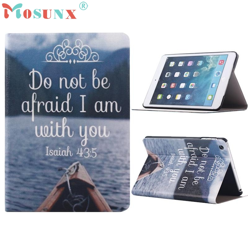Sea Pattern Flip Stand PU Leather Case Cover For iPad Mini 1 2 3 Retina jn11 top quality hot selling fashion design anchors pattern flip stand leather case cover for ipad mini 2 retina jul 12
